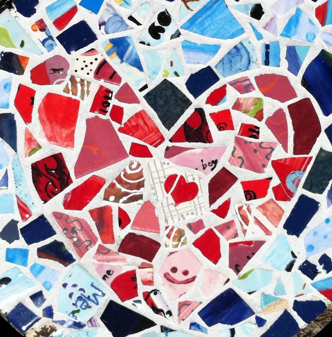 valentine mosaic