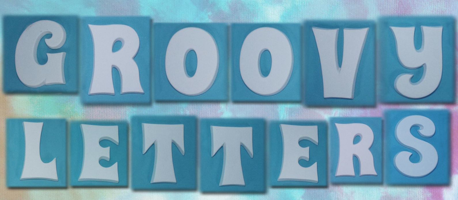 groovy letters