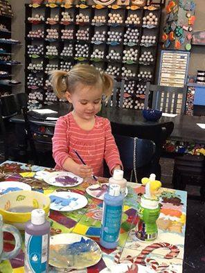 preschool painting at picassoz