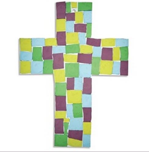 Mosaic Cross Suncatcher