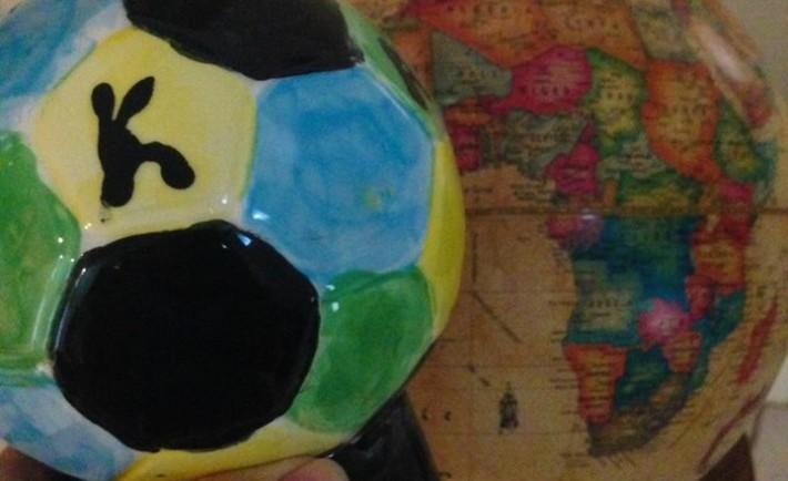 Soccer balls for Rwanda