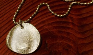 Fingerprint Silver Jewelry