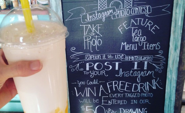 instagram Contest in Tea Largo
