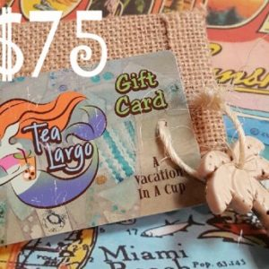 $75 Tea Largo Gift Card