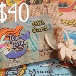 Tea Largo Gift Card $40