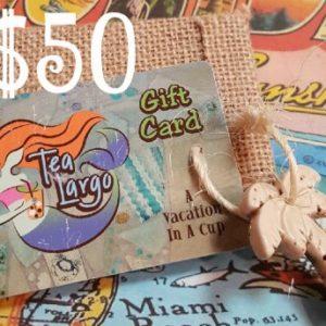 Tea Largo Gift Card $50