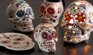 Skull Painting at PicassoZ
